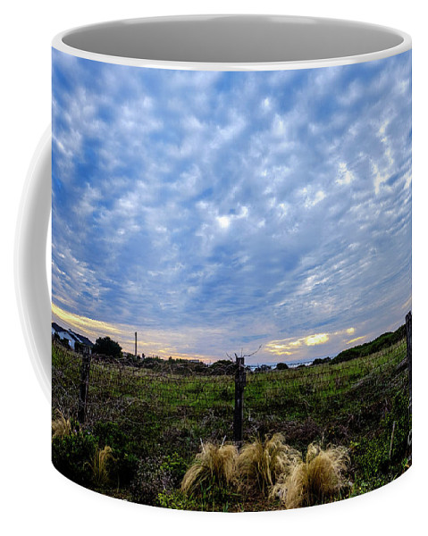 Clouds Coffee Mug featuring the photograph Clouds Illusions by Rochelle Sjolseth