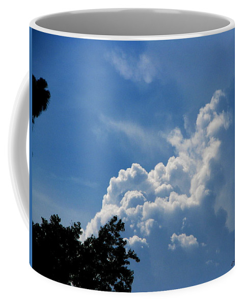 Patzer Coffee Mug featuring the photograph Clouds Of Art by Greg Patzer