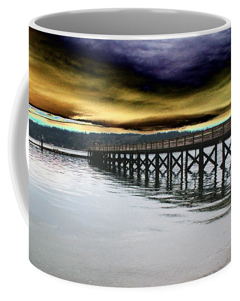 Clouds Coffee Mug featuring the photograph Clouds Over Illahee by Tim Allen