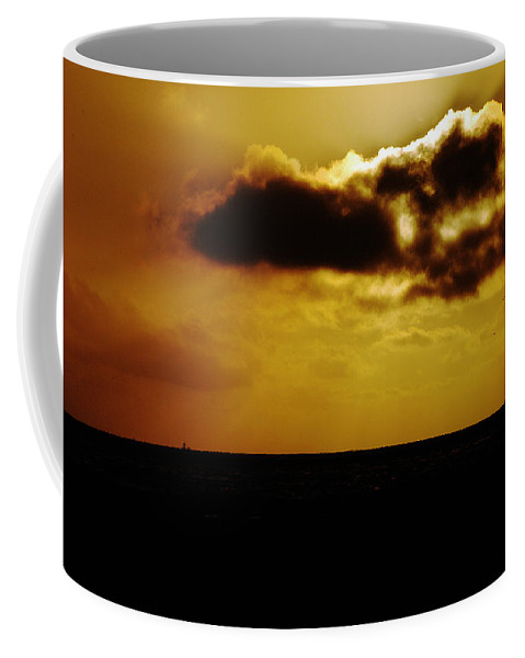 Clay Coffee Mug featuring the photograph Clouds Over The Ocean by Clayton Bruster