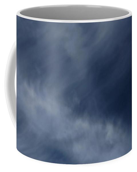 Cirrus Coffee Mug featuring the photograph Clouds by Steve Gravano