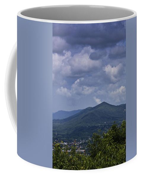 Roanoke Coffee Mug featuring the photograph Cloudy Day In Virginia by Teresa Mucha