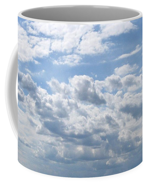 Clouds Coffee Mug featuring the photograph Cloudy by Rhonda Barrett
