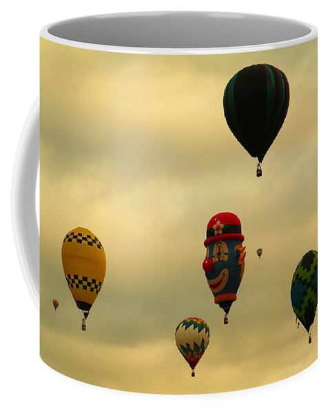 Balloons Coffee Mug featuring the photograph Clown Balloon by Jeff Swan