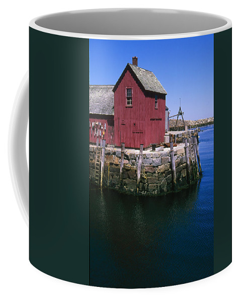 Landscape New England Rockport Motif Number 1 Coffee Mug featuring the photograph Cnrf0506 by Henry Butz