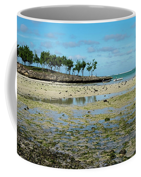 Low Tide Coffee Mug featuring the photograph Coastal Textures by Clic- Cat