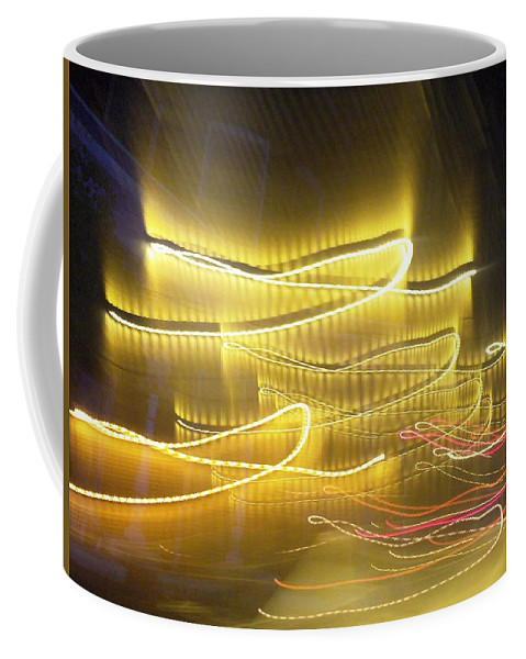Photograph Coffee Mug featuring the photograph Coaster Of Lights Two by Thomas Valentine