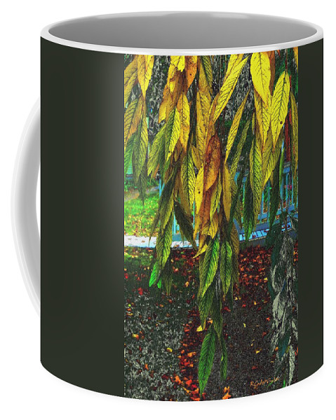 Autumn Coffee Mug featuring the painting Coat Of Many Colors by RC DeWinter