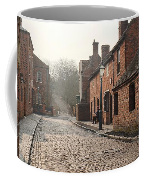 Street Coffee Mug featuring the photograph Cobbled Street by John Chatterley