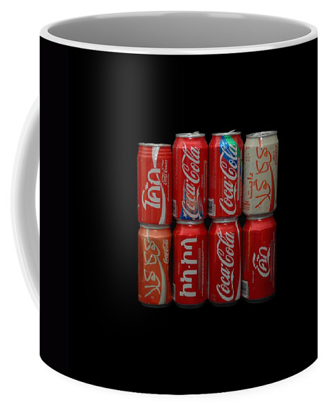 White Coffee Mug featuring the photograph Coca Cola by Rob Hans