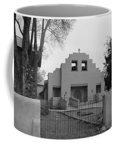 Architecture Coffee Mug featuring the photograph Cochiti Church by Rob Hans