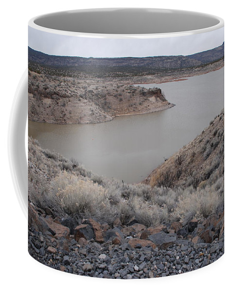 Mountians Coffee Mug featuring the photograph Cochiti Lake by Rob Hans