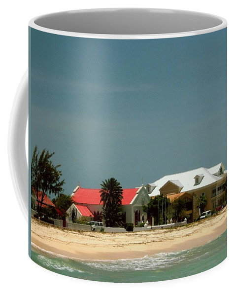 Grand Turk Coffee Mug featuring the photograph Cockburntown Grand Turk by Gary Wonning