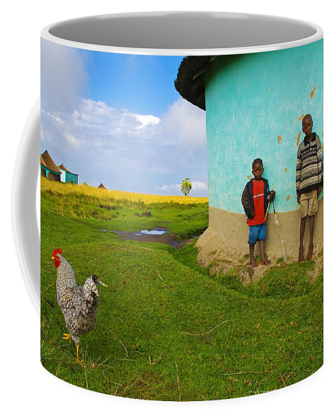 Skip Coffee Mug featuring the photograph Cocky by Skip Hunt