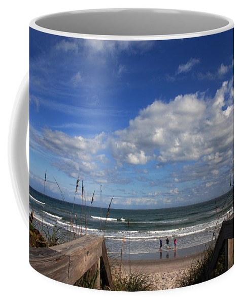 Photography Coffee Mug featuring the photograph Cocoa Beach Florida by Susanne Van Hulst