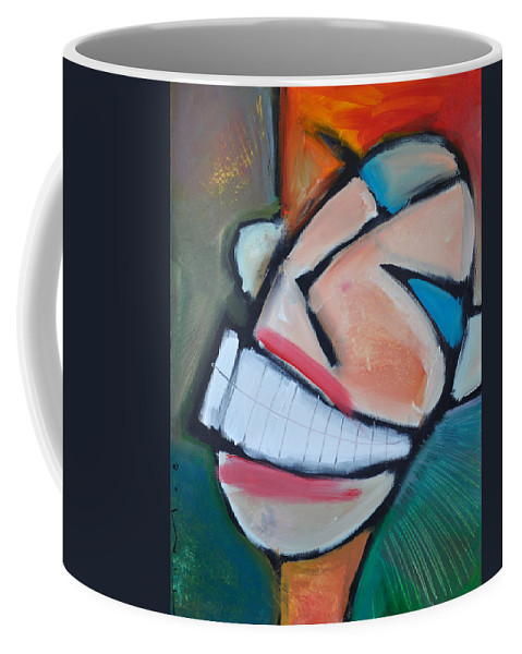 Smile Coffee Mug featuring the painting Coconut Bread by Tim Nyberg