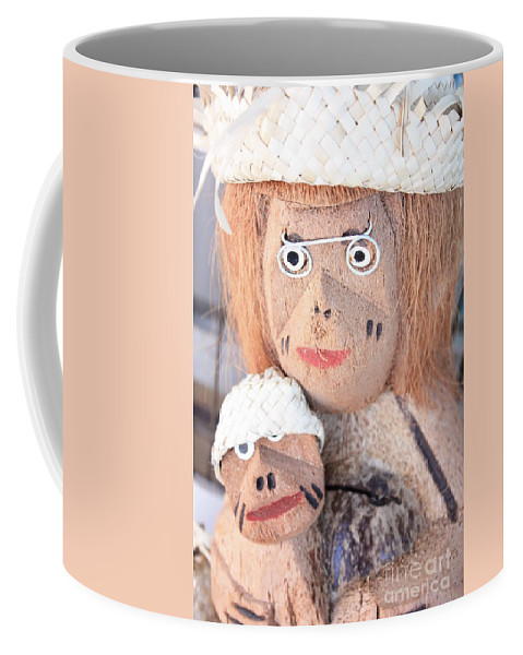 Coconuts Coffee Mug featuring the photograph Coconut Family by Carol Groenen