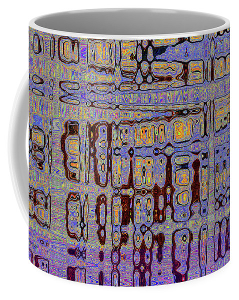 Code Abstract Coffee Mug featuring the photograph Code Abstract by Tom Janca