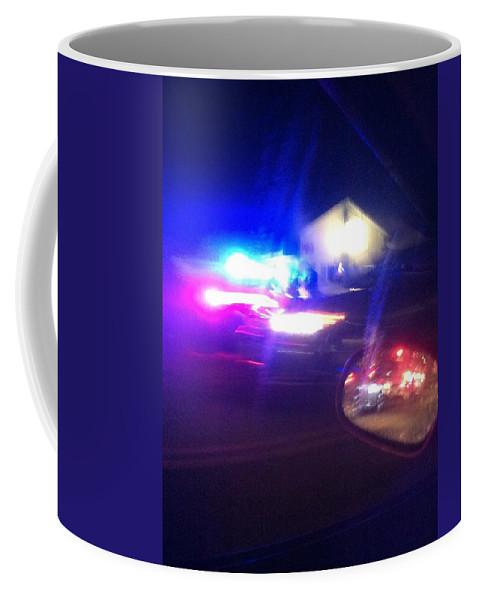 Coffee Mug featuring the photograph Codified Ancillary Pressure by Ronald Carlino