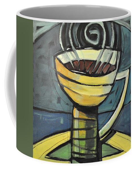Coffee Coffee Mug featuring the painting Coffee Cup Three by Tim Nyberg