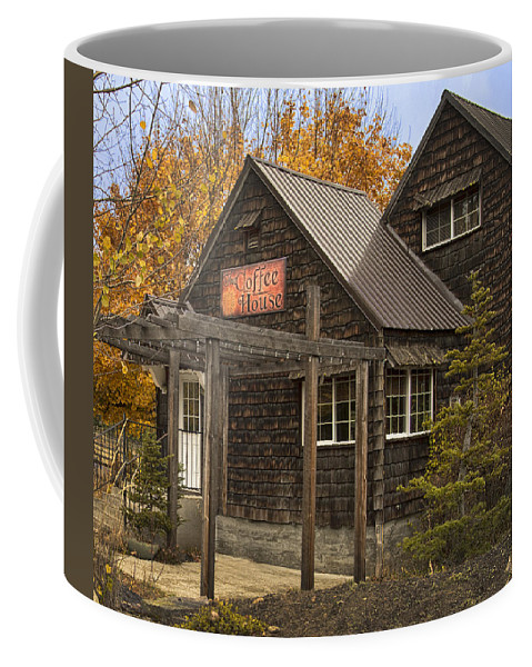 Landscape Coffee Mug featuring the photograph Coffee House by Herman Robert