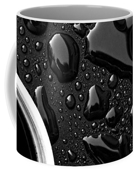 Abstract Coffee Mug featuring the photograph Coffee Outdoor Cafe by Bob Orsillo