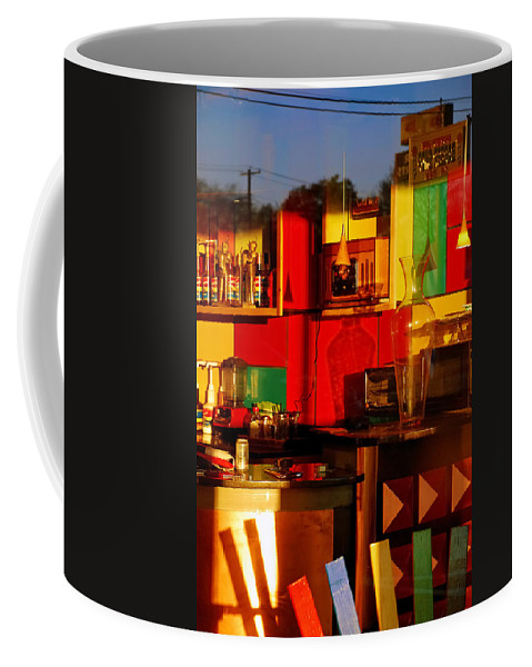 Skip Hunt Coffee Mug featuring the photograph Coffee Shop by Skip Hunt