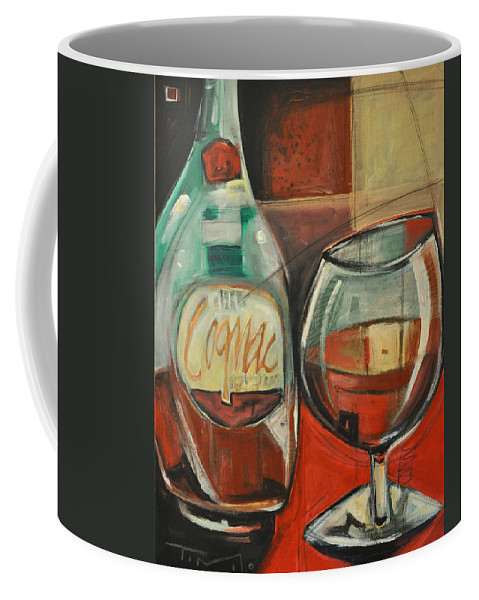 Alcohol Coffee Mug featuring the painting Cognac by Tim Nyberg