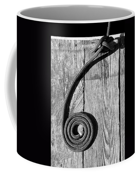 Coiled Coffee Mug featuring the photograph Coiled by Charles Harden