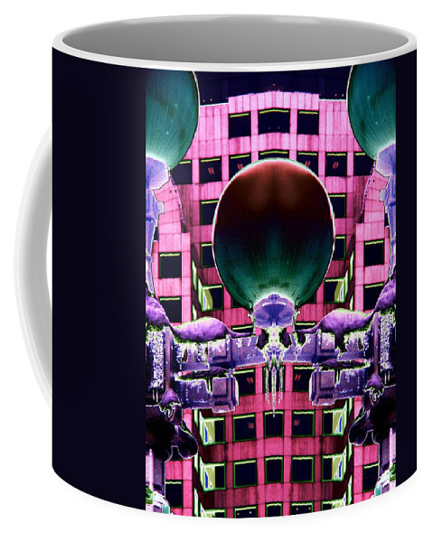 Lights Coffee Mug featuring the photograph Cold Lights by Tim Allen
