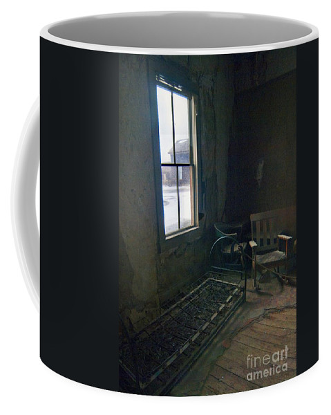Bodie California Coffee Mug featuring the photograph Cold Window Light by Norman Andrus