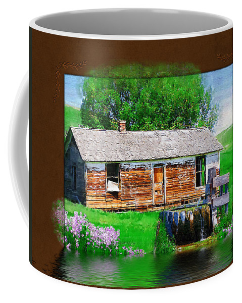 Collage Coffee Mug featuring the photograph Collage by Susan Kinney