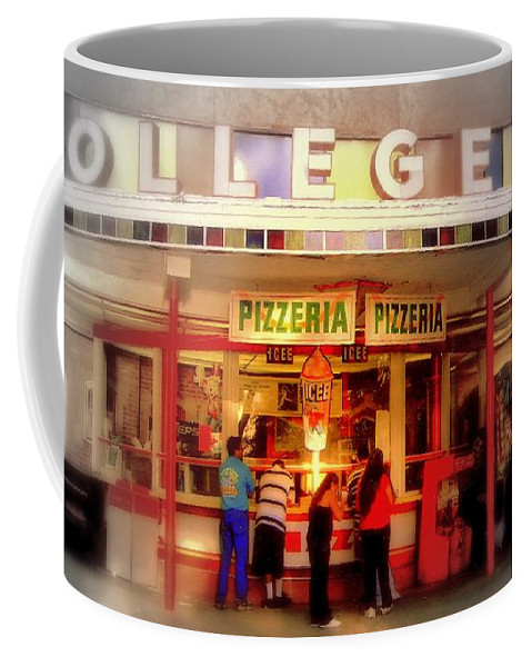 College Coffee Mug featuring the photograph College Inn by Andrew Gillette