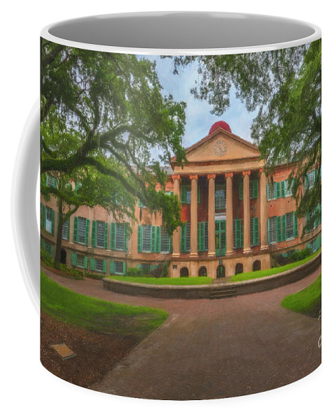 College Of Charleston Coffee Mug featuring the photograph College Of Charleston Main Academic Building by Dale Powell