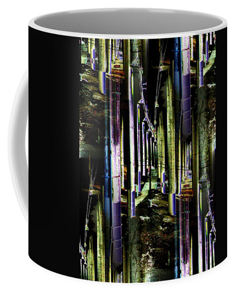 Seattle Coffee Mug featuring the photograph Collonade Park by Tim Allen