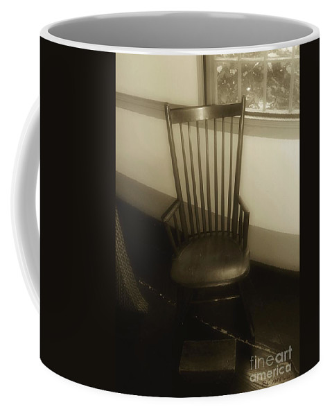 Antique Coffee Mug featuring the photograph Colonial Comfort by RC DeWinter