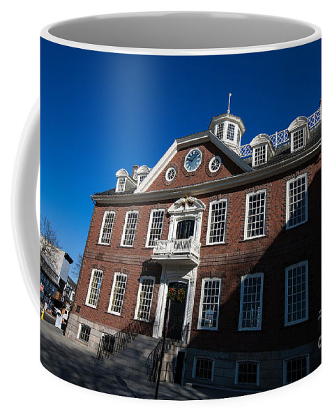 Travel Coffee Mug featuring the photograph Colony House Newport Rhode Island by Jason O Watson