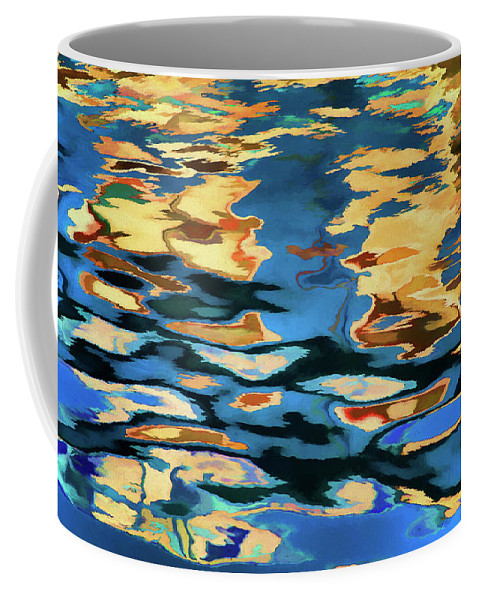 Abstract Coffee Mug featuring the photograph Color Abstraction Lxix by David Gordon