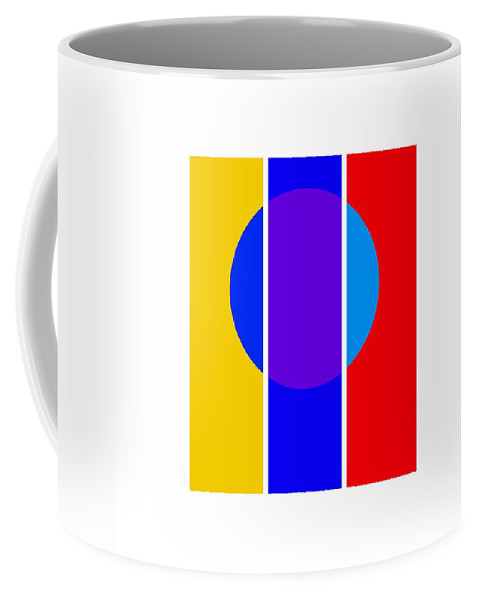Primary Colors Coffee Mug featuring the painting Color And Form by Charles Stuart