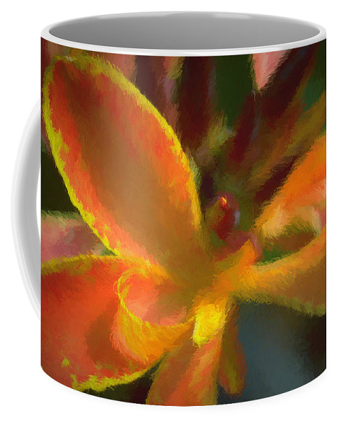Flowers Coffee Mug featuring the photograph Color Burst by Peter Hogg