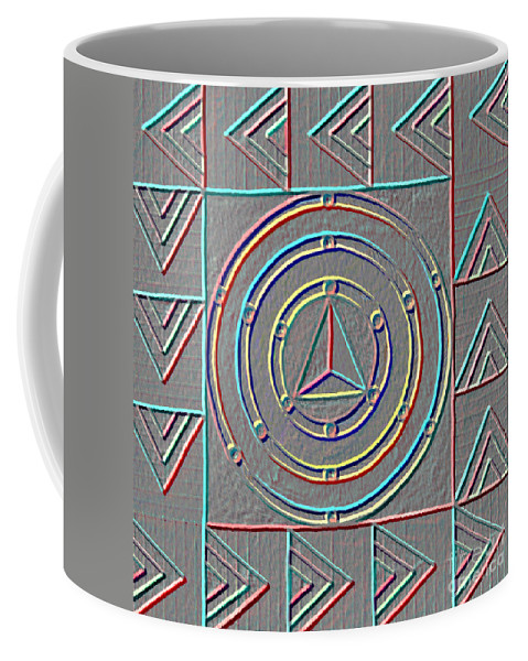Design Coffee Mug featuring the painting Color Design by Norma Appleton