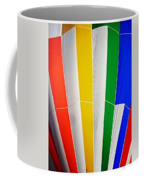 Hot Coffee Mug featuring the photograph Color In The Air by Juergen Weiss