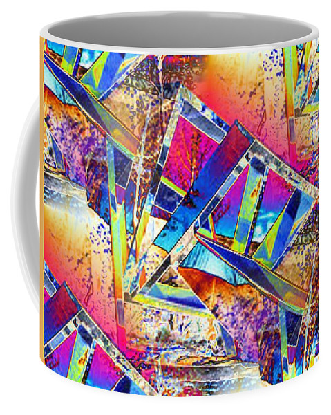 Seattle Coffee Mug featuring the photograph Color Me Abstract by Tim Allen