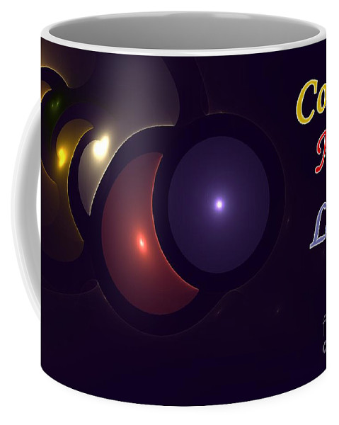Color Coffee Mug featuring the digital art Color My Life by Steve K