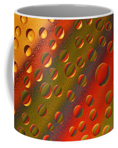 Abstract Coffee Mug featuring the photograph Color My World by Dennis Nelson