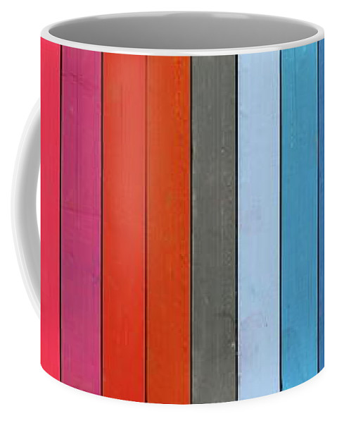 Could Coffee Mug featuring the photograph Color Range - Detail Of The Colored Pastels by Michal Boubin