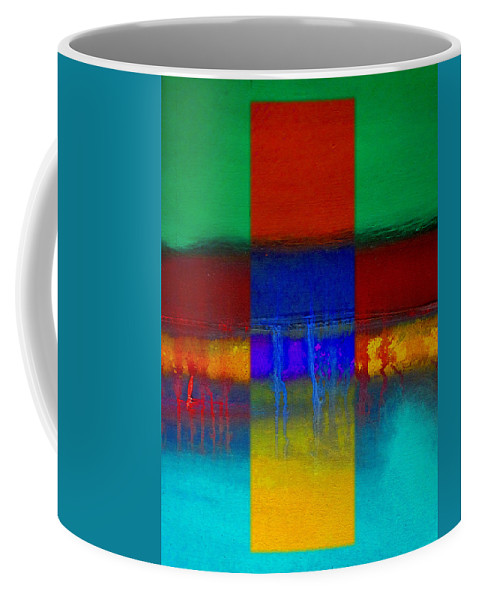Landscape Coffee Mug featuring the painting Color State by Charles Stuart