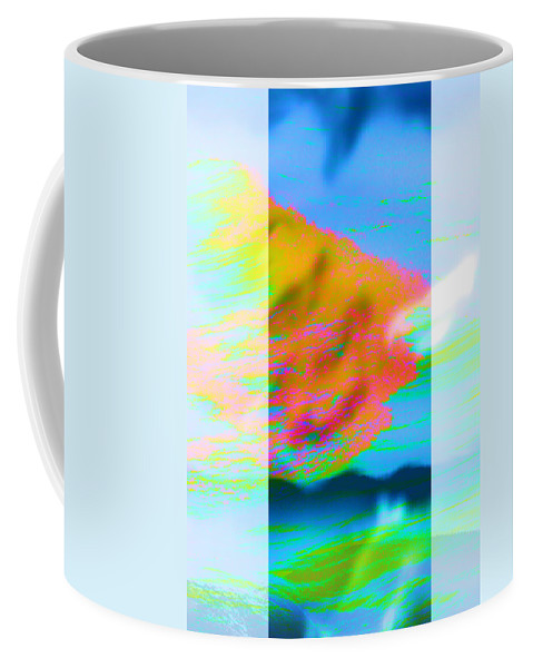 Color Coffee Mug featuring the digital art Color Wave by Are Lund
