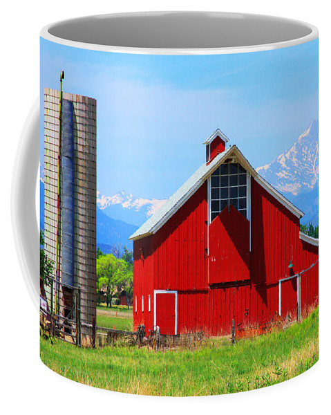 Country Coffee Mug featuring the photograph Colorado Country Fine Art Print by James BO Insogna