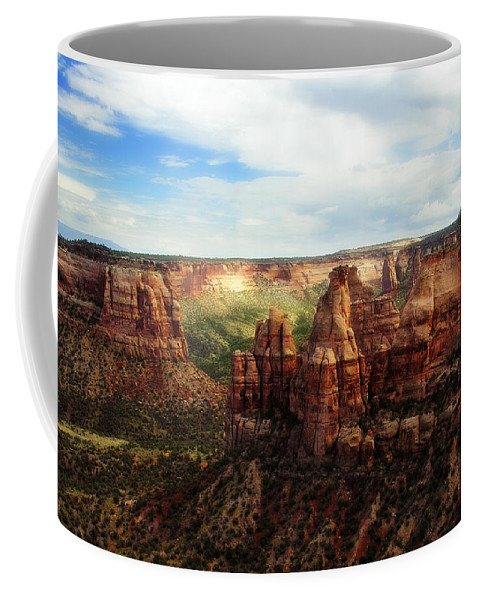 Americana Coffee Mug featuring the photograph Colorado National Monument by Marilyn Hunt